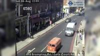London: Old Brompton Rd - Earls Court Rd - Current