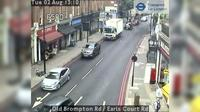 London: Old Brompton Rd - Earls Court Rd - Jour