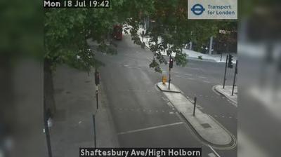 Londres: Shaftesbury Ave/High Holborn