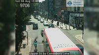 North Cheam: Upper St by Canonbury Lane - Dia