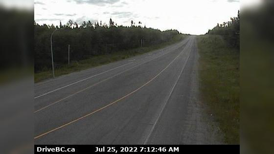 Webcam Fraser Lake › East: Hwy 16, at Nautley Road, looki