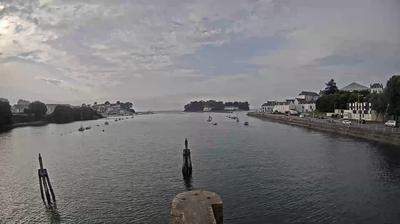 Douarnenez: Cimetière de bateau du Port-Rhu