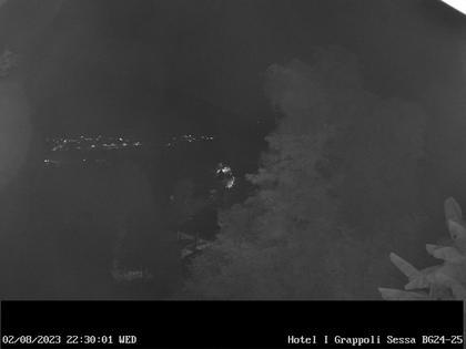 Sessa › Süd-West: Hotel I Grappoli - Monte Sette Termini (r.), Monte Mezzano (l.), Tresa Valley & River running from Ponte Tresa to Luino