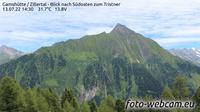 Gemeinde Finkenberg: Gamsh�tte - Zillertal - Blick nach S�dosten zum Tristner - Jour