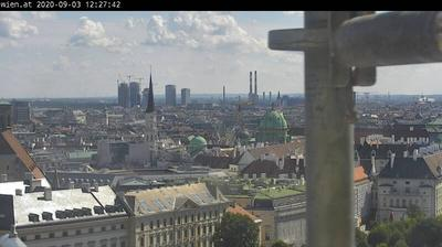 Daylight webcam view from Vienna: Karlskirche