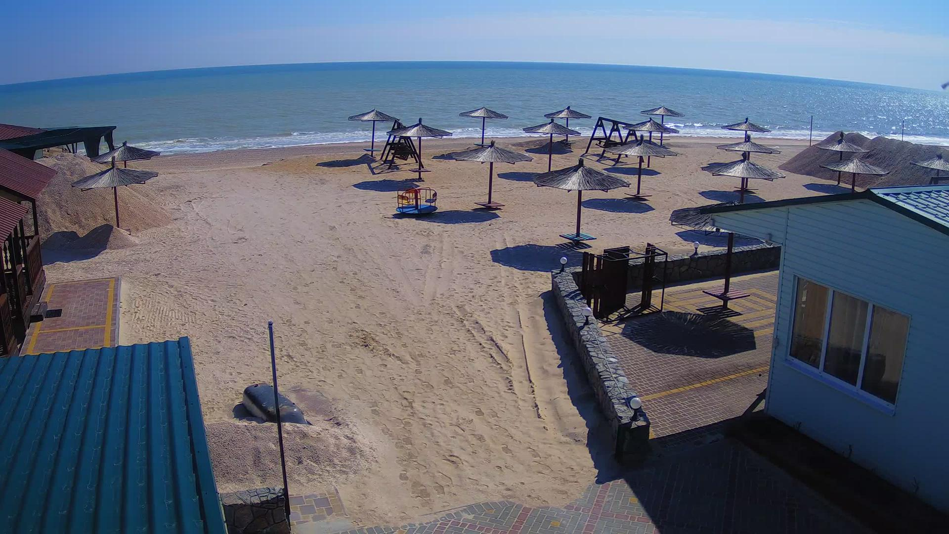 Webcam Stepok › West: Азовское море − база отдыха Гавайи