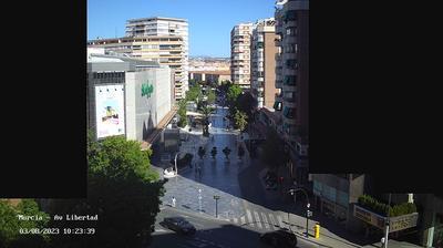 Gambar mini Webcam Murcia pada 1:04, Mar 2