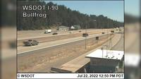 Sammamish > East: I- at MP .: Bullfrog-facing east - El día