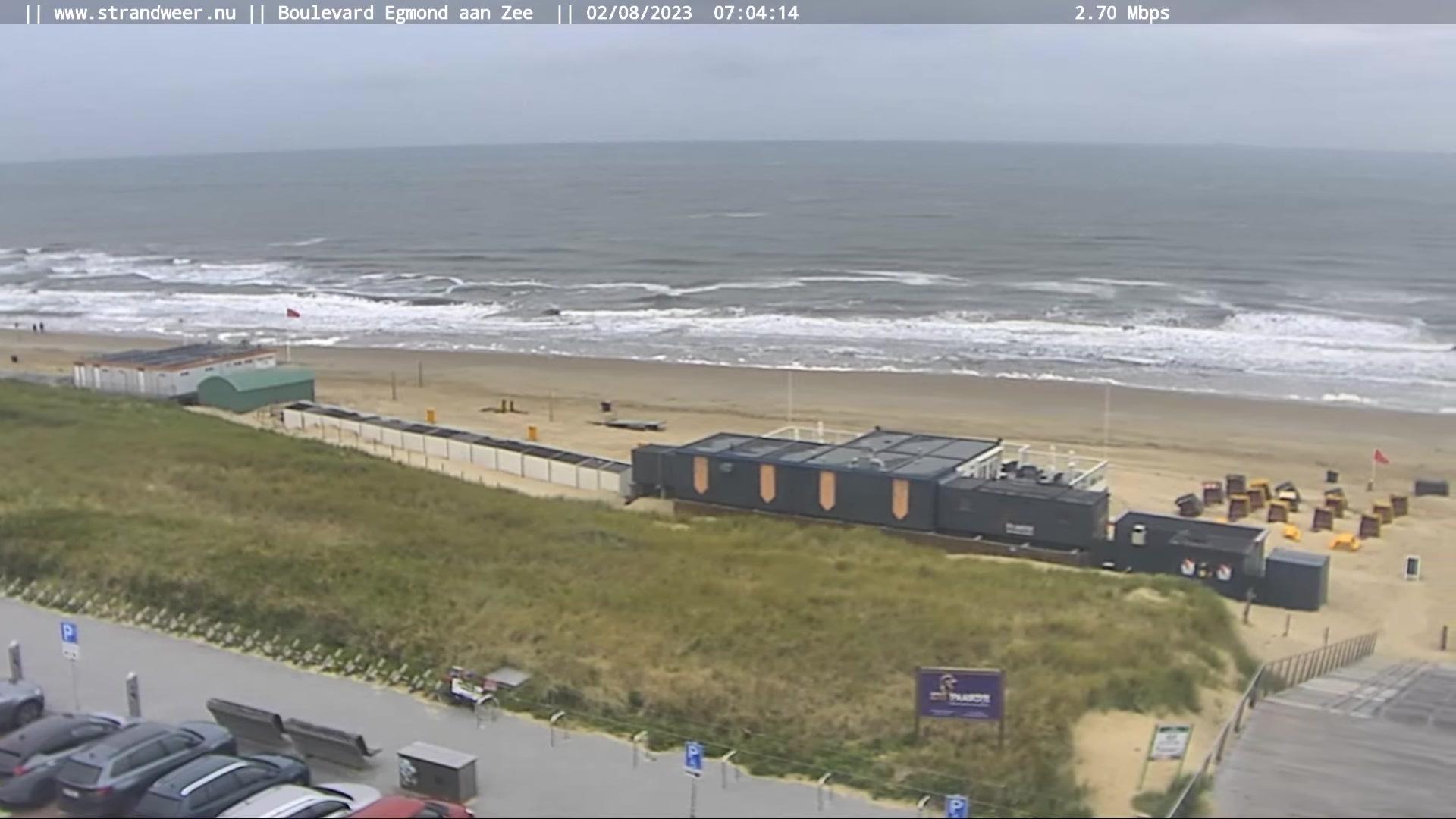 Webkamera Egmond aan Zee: Beach