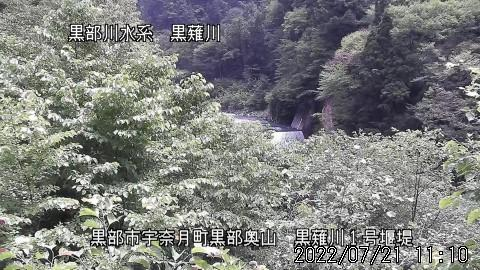 Webcam Toyama: Kuronagi River