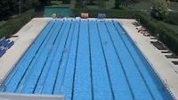 Strakonice: venkovní bazén - Day time