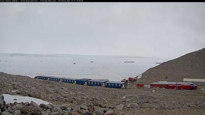 Vue actuelle ou dernière à partir de Troll research station (Norway): Troll Station