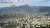 Meran: Marlinger Berg - Blick nach Nordosten - Current