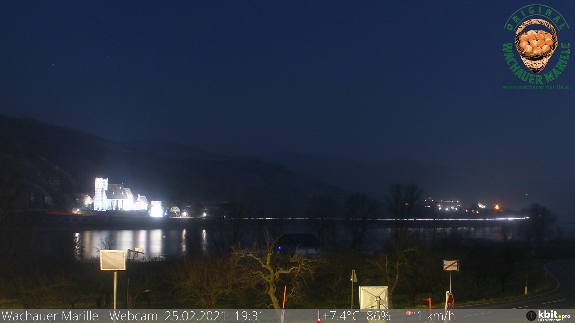 Webcam Mitterarnsdorf: Danube River
