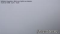 Grainau: Seilbahn Zugspitze - Blick zum Gipfel von Westen - Overdag