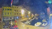 Veli Losinj: the harbor - Actual
