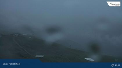 Davos: Platz - Jakobshorn, Blick Jatzhütte
