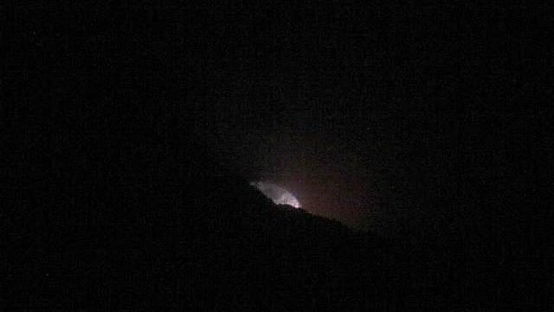 Webkamera Volcán Masaya › South: Masaya − Crater del