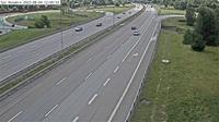 Bogs gard: Tpl Rotebro (Kameran �r placerad p� E Uppsalav�gen i h�jd med trafikplats Rotebro. Kameran �r riktad mot Stockholm) - El día