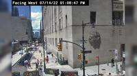 New York: Church Street @ Vesey Street - Overdag