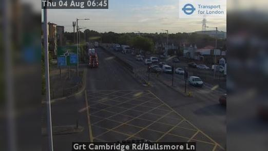 Webcam Barnet: Grt Cambridge Rd/Bullsmore Ln