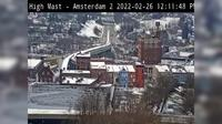 South Amsterdam > South: Route  High Mast # (Amsterdam) - Day time