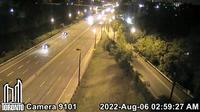 Riverdale: Don Valley Parkway near Dundas St - Current