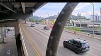 Mainstrasse Village: I-/I- N on Brent Spence Bridge - Overdag