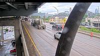 Mainstrasse Village: I-/I- N on Brent Spence Bridge - Day time