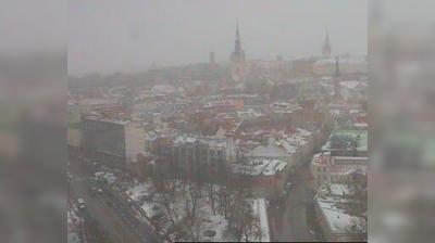 Vue webcam de jour à partir de Tallinn: Viru Square − Pärnu maantee − Narva maantee
