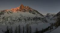 Chamonix: Mer de Glace - Mont Blanc - El día