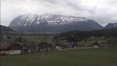Vista de cámara web de luz diurna desde Obersdorf: Bad Mitterndorf mit Grimming