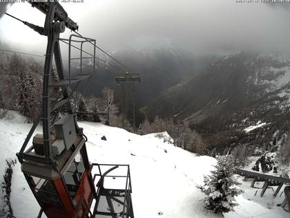 Finhaut: Vue sur la chaine du Mt.Blanc