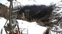 Finhaut: Vue sur la chaine du Mt.Blanc - Overdag