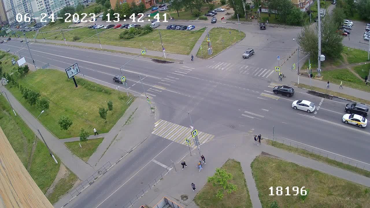 Webcam Котово: Вебкамера на Новом бульваре