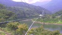 Last daylight view from 茨木: Ibaraki − Hitachiouta − Momiji − Bridge View