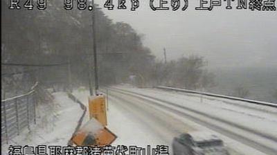 Webcam ふくしま: Fukushima − Route 49 − Joko
