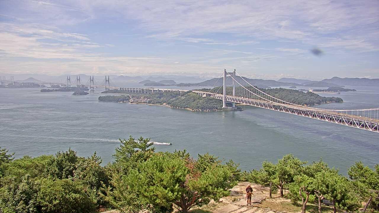 Webcam 一番町: Okayama Setonai Sea