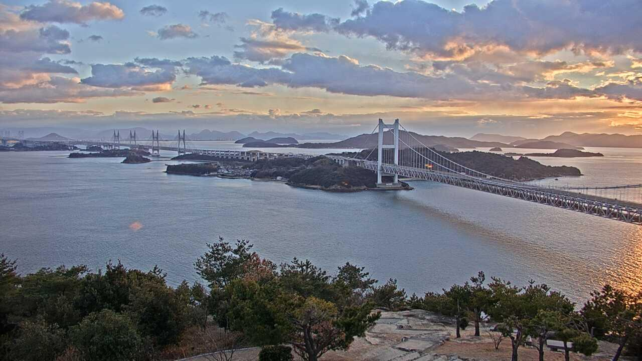 Webkamera 一番町: Okayama Setonai Sea