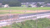 Last daylight view from 長浜: Nagahama − Takatsuki − Higashimononobe − View