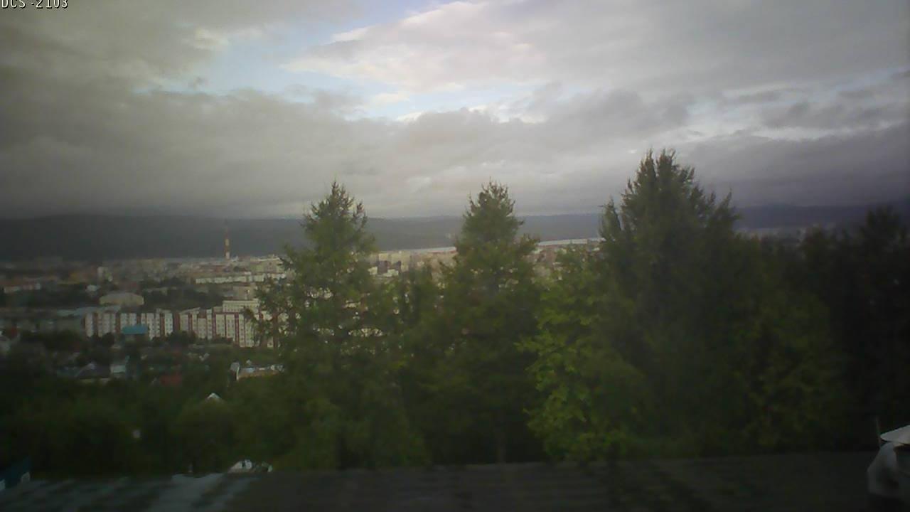 Webcam Больничный Городок: Мурманск, сопка Варничная