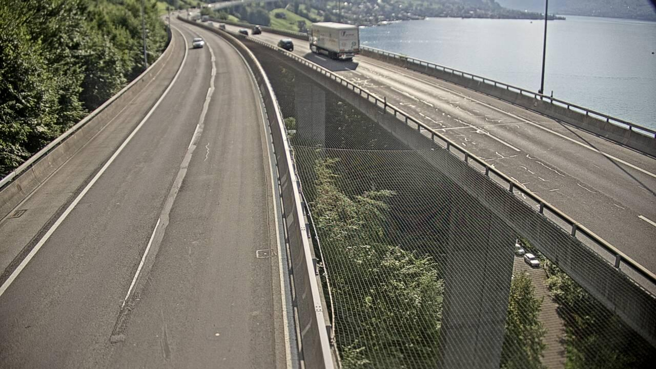 webcam Beckenried: Seelisbergtunnel Nord