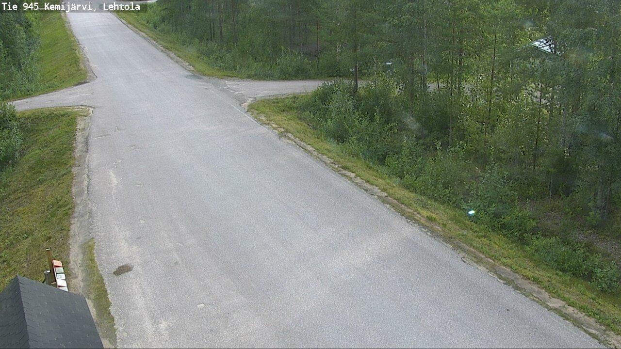 Webcam Kemijärvi: Tie945 Kemijarvi, Lehtola − Perä-Posiol