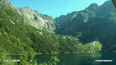 Current or last view from Morskie Oko: Rysy
