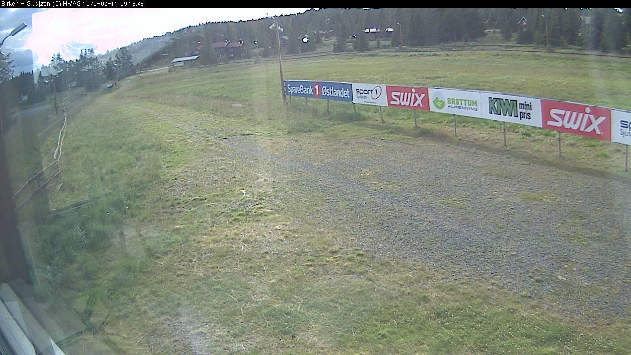 Webcam Sjusjøen: Birkebeiner ski track