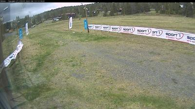 Daylight webcam view from Sjusjøen: Birkebeiner ski track