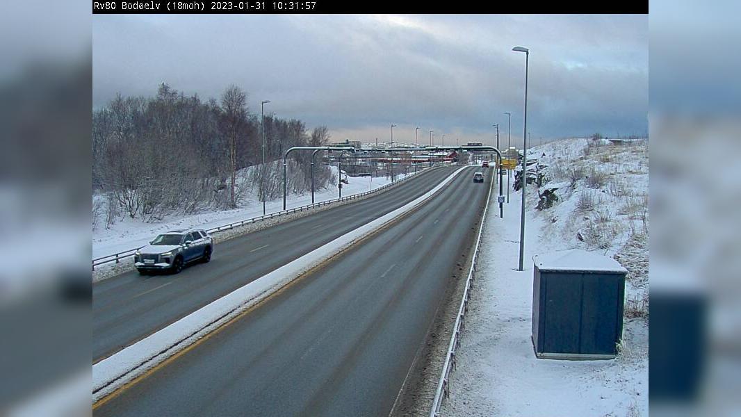 Webcam Rønvik: R80 Bodøelv (20 moh)