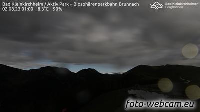 Aktuelle oder letzte ansicht von Bad Kleinkirchheim: Biosphärenparkbahn Brunnach Blickrichtung Pfannnock