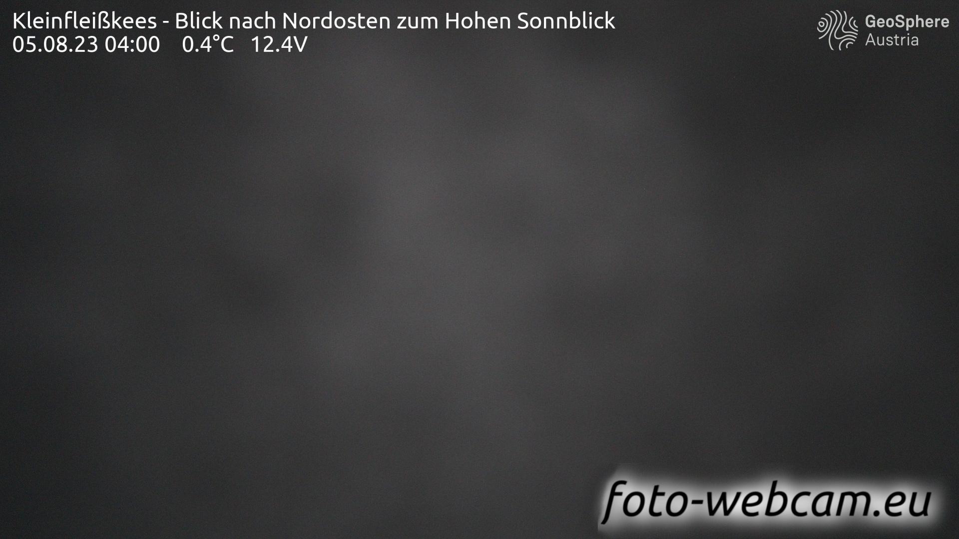Webcam Schachnern: Kleinfleißkees − Blick nach Nordosten
