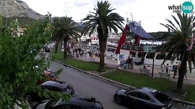 Veliko Brdo: Makarska waterfront